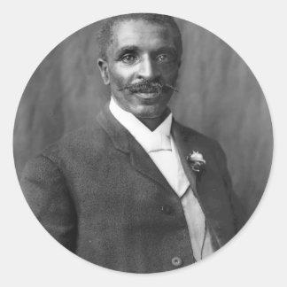 George Washington Carver scientist botanist Round Sticker