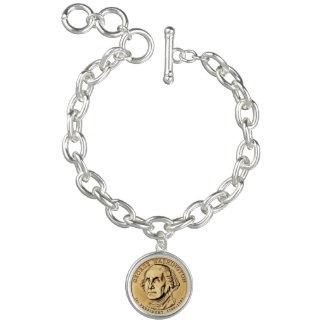 George Washington Charm Bracelet