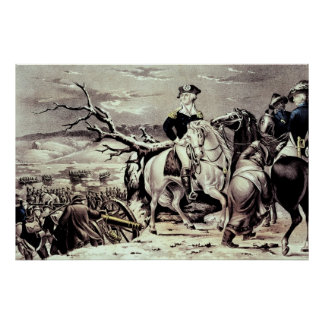 George Washington crossing the Delaware Poster