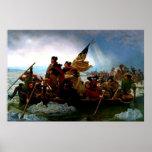 George Washington crossing the Delaware River 1851