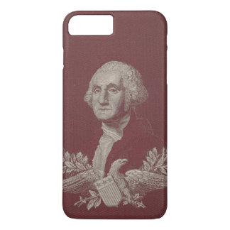 George Washington Eagle Stars Stripes USA Portrait iPhone 8 Plus/7 Plus Case