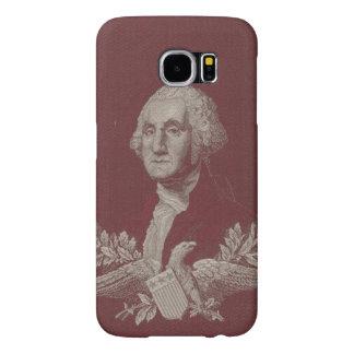George Washington Eagle Stars Stripes USA Portrait Samsung Galaxy S6 Cases