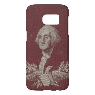 George Washington Eagle Stars Stripes USA Portrait Samsung Galaxy S7 Case