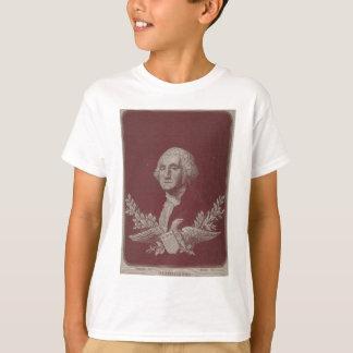 George Washington Eagle Stars Stripes USA Portrait T-Shirt