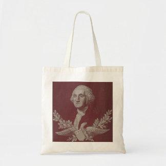 George Washington Eagle Stars Stripes USA Portrait Tote Bag