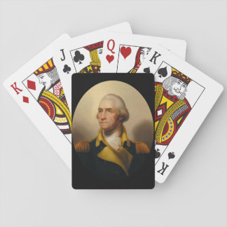 George Washington, First U.S. President Playing Cards