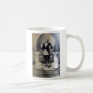 George Washington freemason mug