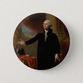 George Washington - Gilbert Stuart (1797) 2 Inch Round Button