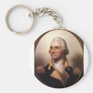George Washington Keychain