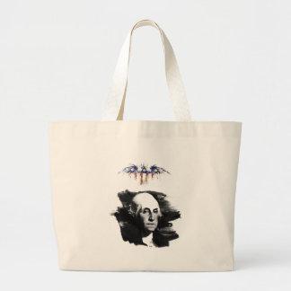 George Washington Large Tote Bag