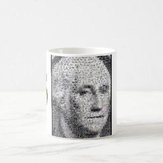 George Washington Money mug