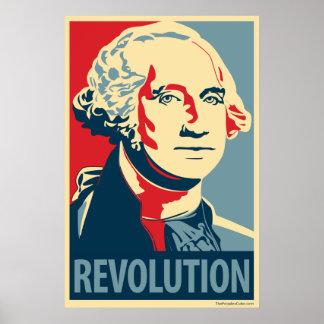 George Washington: Obama parody poster