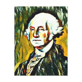 George Washington Oil Portrait Canvas Print