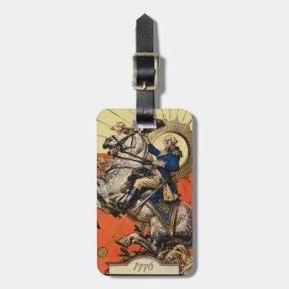 George Washington on Horseback Luggage Tags