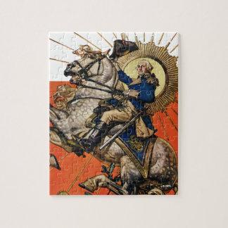 George Washington on Horseback Puzzle