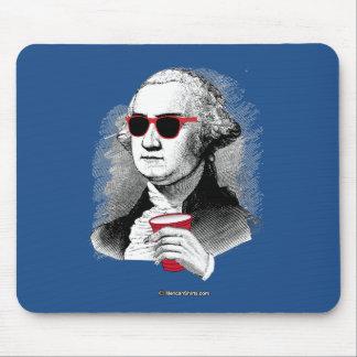George Washington Party Animal Mouse Pad