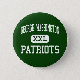 George Washington - Patriots - High - Denver 2 Inch Round Button
