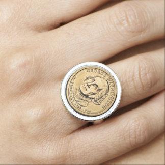 George Washington Photo Ring