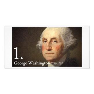 George Washington Photo Card Template