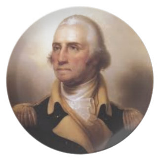 George Washington Plate