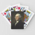 George Washington playing cards