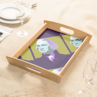 George Washington Pop Art No. 1 Serving Trays