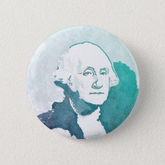 George Washington Pop Art Portrait 2 Inch Round Button