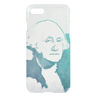 George Washington Pop Art Portrait iPhone 7 Case