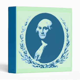 George Washington PopArt Vinyl Binders