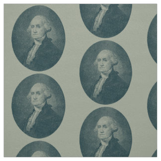 George Washington Portrait Oval Fabric