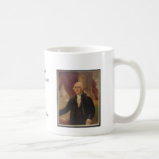 George Washington Portrait & Quote Mug