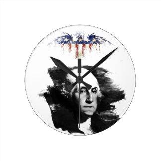 George Washington Round Clock