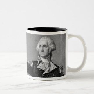 George Washington Salute mug