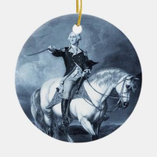 George Washington Salute ornament
