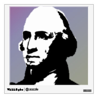 George Washington Silhouette Wall Sticker