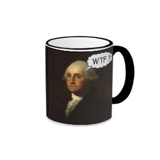 'George Washington Spinning in His Grave' Coffee Mug