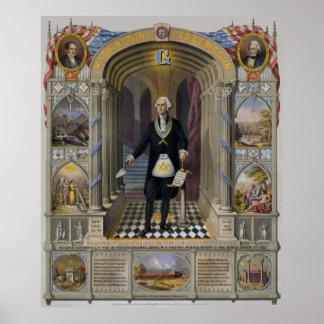 George Washington, The Mason II Poster