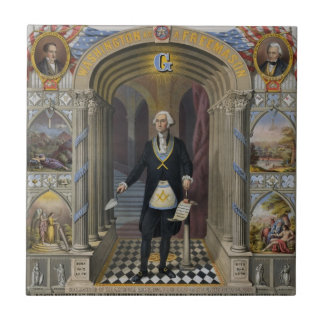 George Washington, The Mason II Tile
