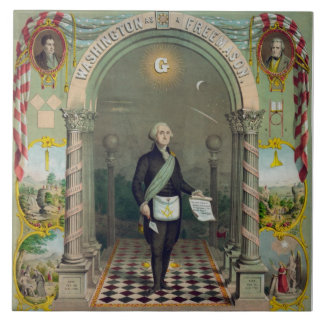 George Washington, The Mason Tile