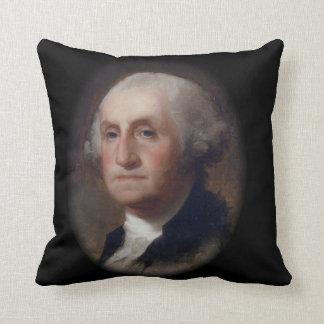 George Washington - Thomas Sulley  (1820) Throw Pillow