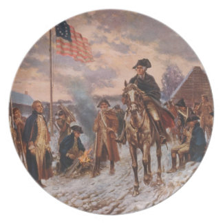 George Washington, Valley Forge Collector Plate