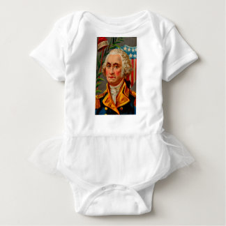George Washington Vintage Baby Bodysuit