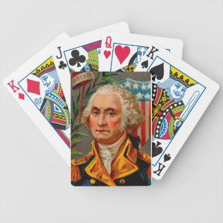 George Washington Vintage Bicycle Playing Cards