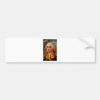 George Washington Vintage Bumper Sticker