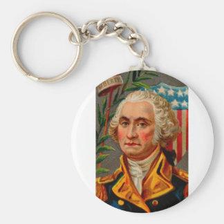 George Washington Vintage Keychain