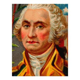 George Washington Vintage Letterhead