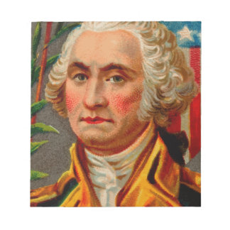George Washington Vintage Notepad