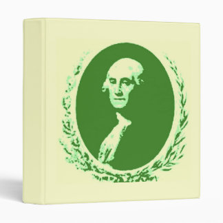George Washington Vinyl Binders