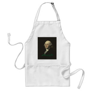 George Washington with autograph Standard Apron
