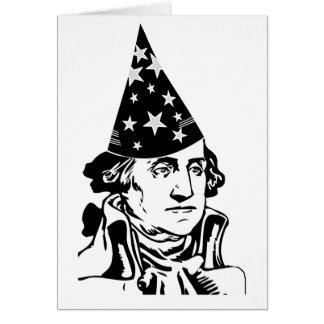 George Washington's Birthday Card